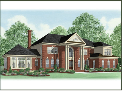 Single Family for sales at Governor's Reserve - The Wellington 600 Churchill Circle Davidsonville, Maryland 21035 United States