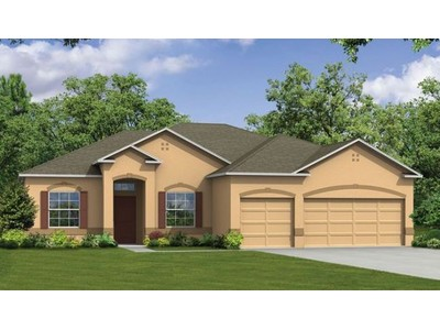Single Family for sales at Ashley Lakes North - Sierra 4751 Ashley Lake Cir Vero Beach, Florida 32967 United States