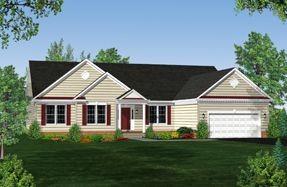 Single Family for sales at Marley Run - Heritage 1535 Marlin Lane Huntingtown, Maryland 20639 United States