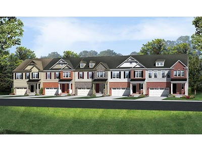Single Family for sales at Belmont Estates Townes - Kaylee 20490 Corder Place Ashburn, Virginia 20147 United States