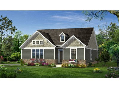 Single Family for sales at Garden Villas At Cherry Hill - Richmond Side Entry  Canton, Michigan 48188 United States