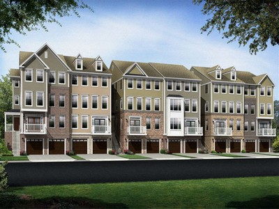 Multi Family for sales at East Gate Back To Back Townhomes - Chatham Ii 25253 Laureldale Terrace Chantilly, Virginia 20152 United States