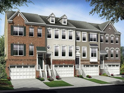Multi Family for sales at Norbeck Crossing Townhomes - Cantwell 3620 Clara Downey Avenue Silver Spring, Maryland 20906 United States