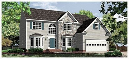 Single Family for sales at Mount Hope Estates - The Jefferson 220 Mount Hope Church Rd Stafford, Virginia 22554 United States