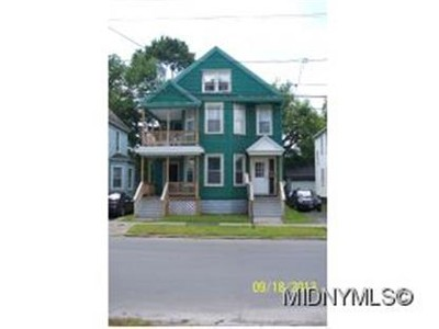 Multi Family for sales at 124 126 James Street  Utica, New York 13501 United States