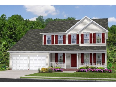 Single Family for sales at Oakland Hall-The Newport 105 Oakland Hall Road Prince Frederick, Maryland 20678 United States