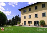 Villas / Townhouses for sales at Tuscany - MANOR VILLA WITH PARK POOL TENNIS COURT AREZZO Arezzo, Italy