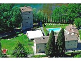Villas / Townhouses for sales at Tuscany - HISTORICAL PROPERTY WITH VILLA AND TOWER FOR SALE IN TUSCANY Arezzo, Italy