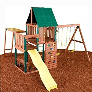 Swing-N -Slide Chesapeake Wood  Swing Set Kit