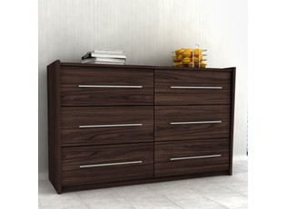 Pacific 6 Drawer Dresser