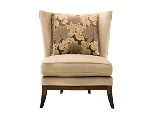 Maxine Armless Accent Chair