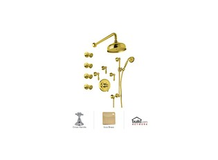 Rohl AKIT36XM-IB Inca Brass Country Bath Country B