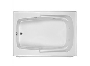 MTI Basics Integral Skirted Bathtub (60