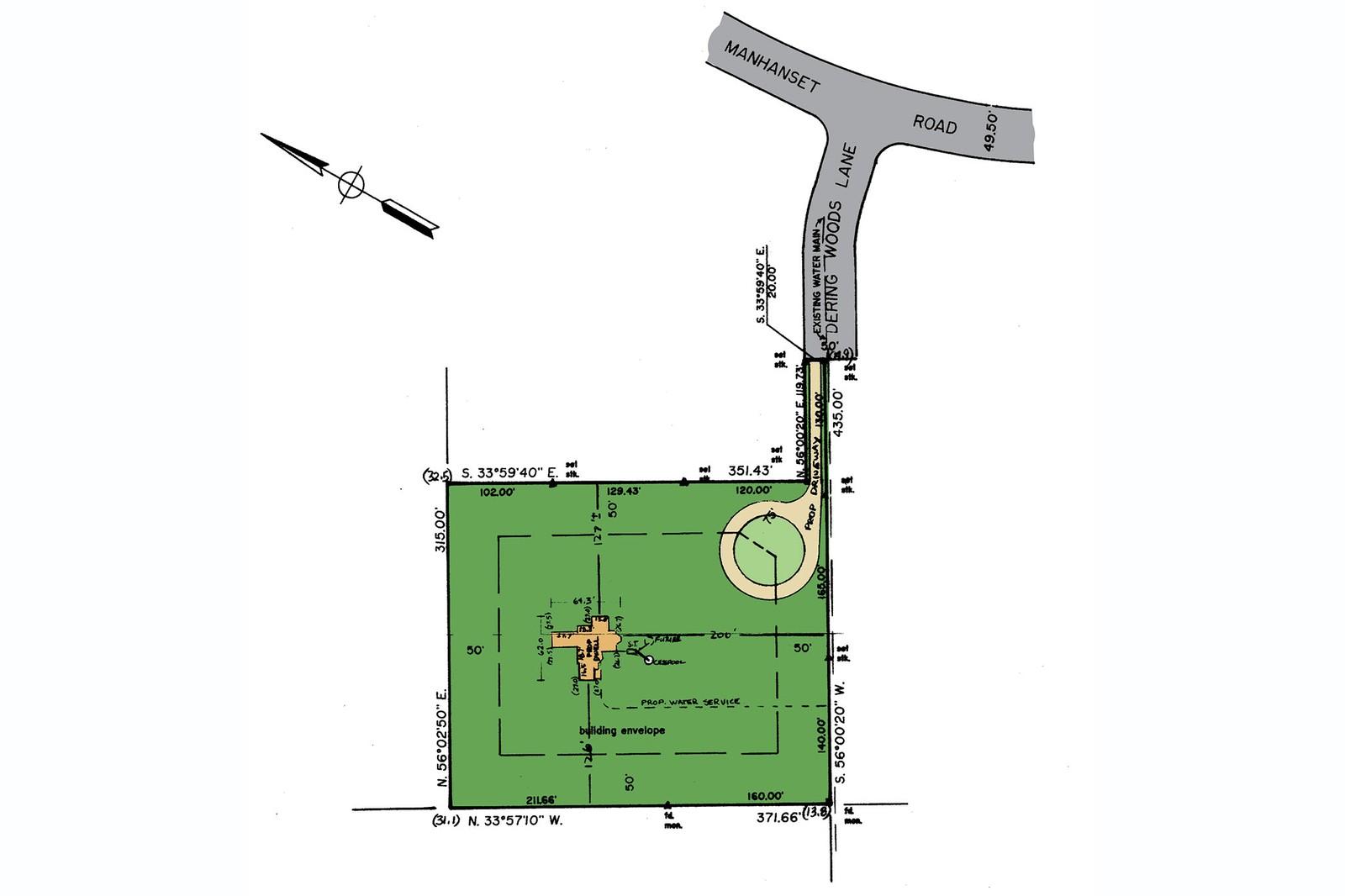 Land for Sale at Shelter Island Pristine Estate Acreage 3 Dering Woods Lane, Dering Harbor Village, NY 11964