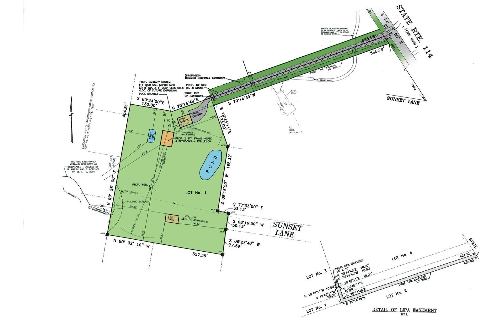 Land for Sale at Shelter Island Acreage Bordering Horse Farm 104 South Ferry Road, Shelter Island, NY 11964