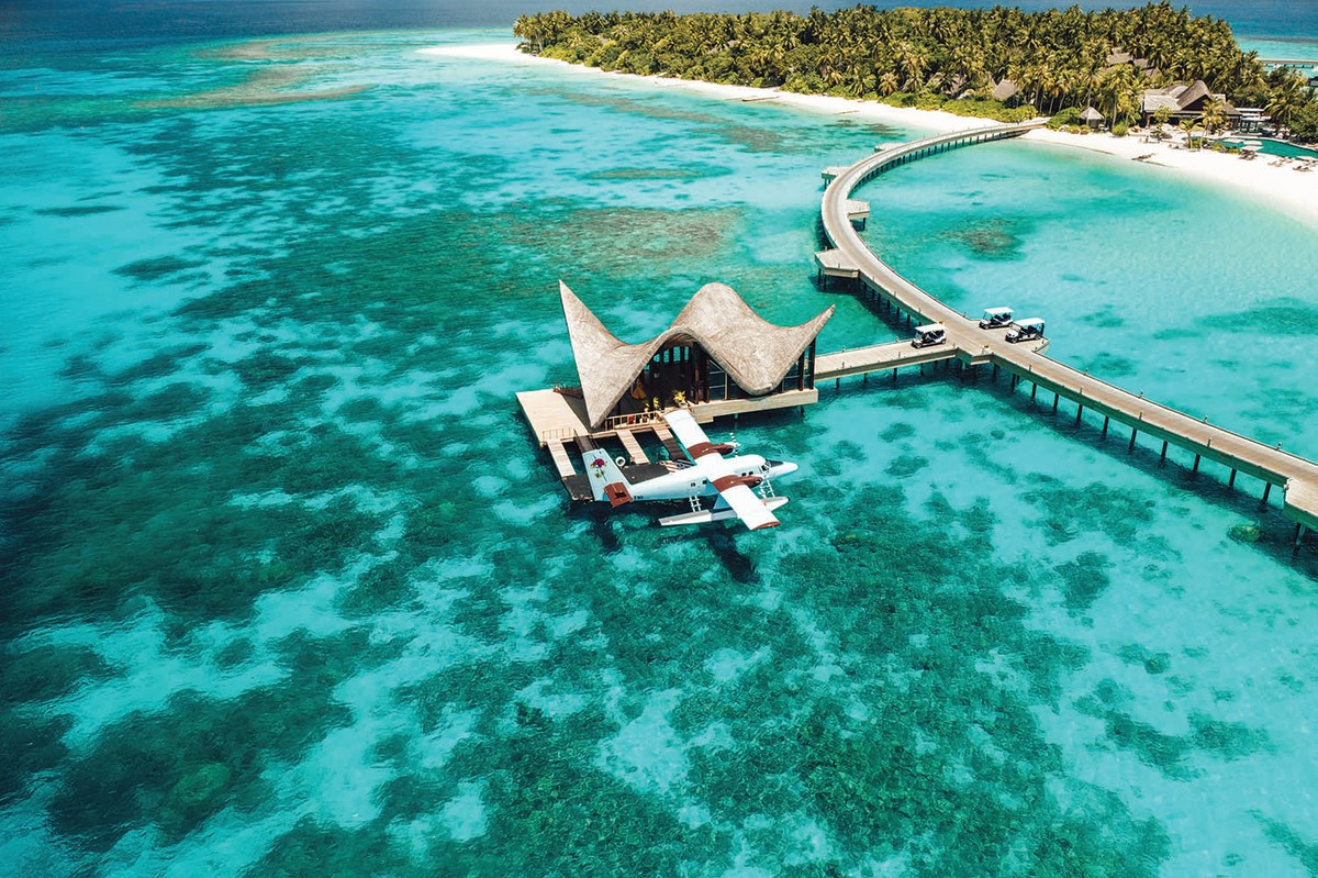 Joali Maldives is a high-end resort and immersive art experience at the same time