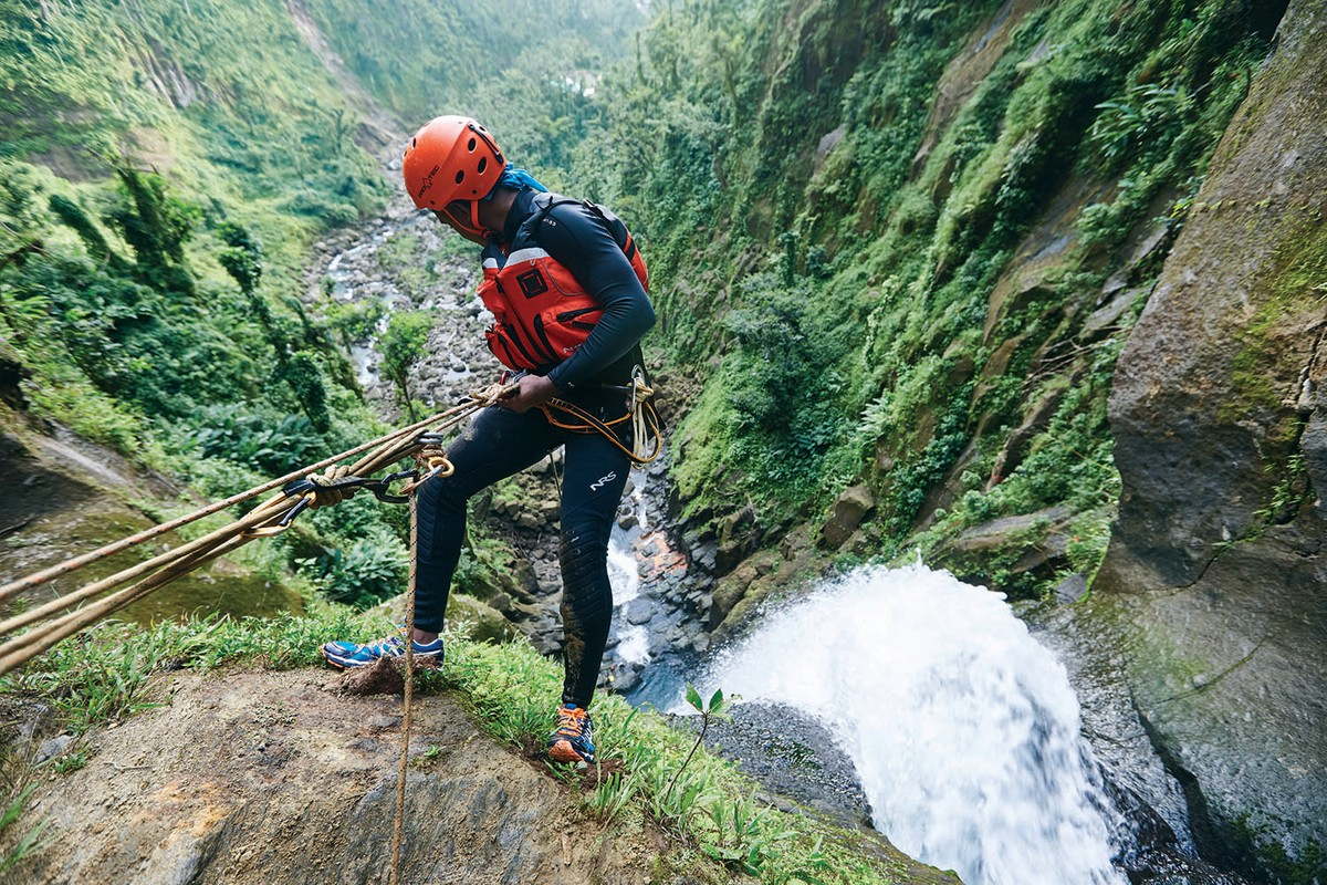 Dominica in the Caribbean offers lots of hiking and climbing options for all levels