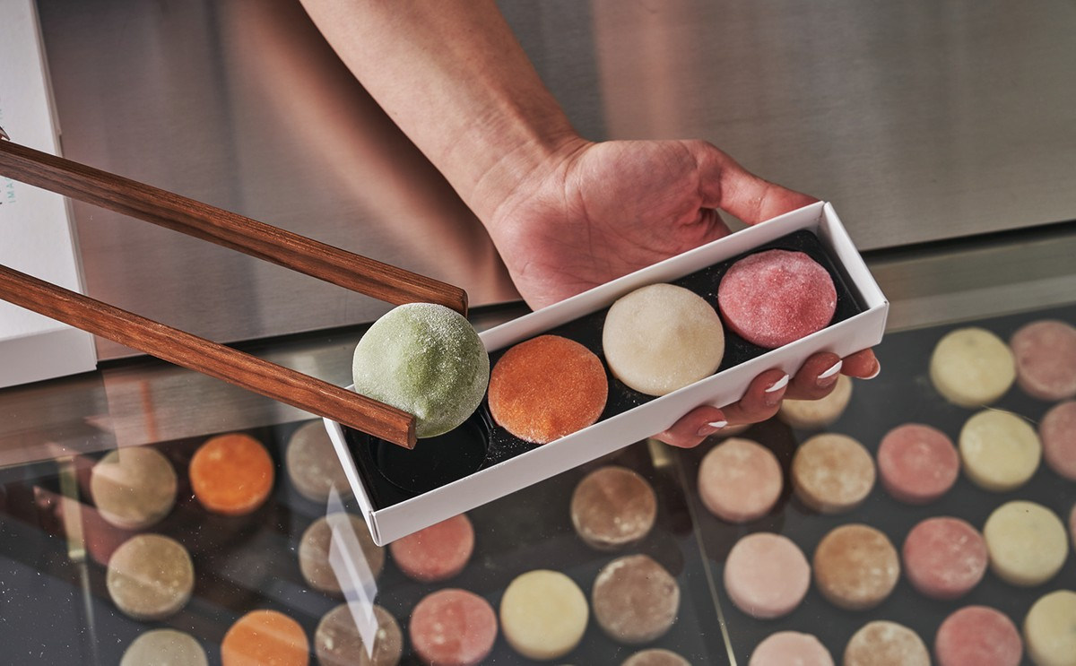 The mochi at Mochidoki in New York City are like works of art