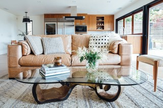 A space designed by Michelle Salz-Smith, who says she sees bohemian as a way of life, rather than a design style