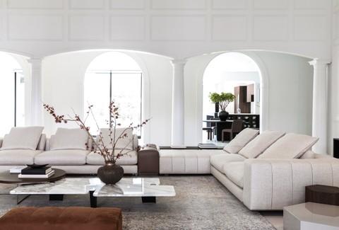 A contemporary home designed by Nina Magon Studio