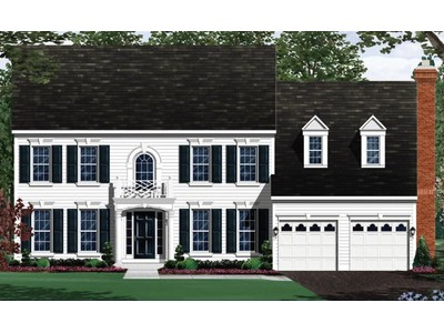 Single Family for sales at Nehouse Estates-The Chevy Chase 148 Hawkes Court Clarksburg, Maryland 20871 United States