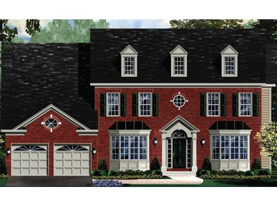 Single Family for sales at Fairview Manor-The Edgemoor 14201 Derby Ridge Road Bowie, Maryland 20721 United States