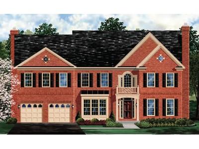 Single Family for sales at Park Ridge-The Oakton 23600 Lefty Lane Clarksburg, Maryland 20871 United States