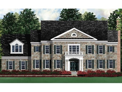 Single Family for sales at Fairview Manor-The Kenwood Ii 14201 Derby Ridge Road Bowie, Maryland 20721 United States