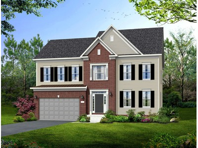 Single Family for sales at Poplar Run-The Bradley 13204 Moonlight Trail Dr. Silver Spring, Maryland 20906 United States