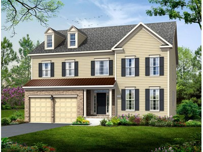 Single Family for sales at Poplar Run-The Prescott 13204 Moonlight Trail Dr. Silver Spring, Maryland 20906 United States