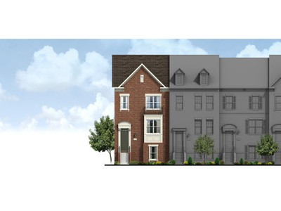 Single Family for sales at Everson Townhomes At Cabin Branch-The Xavier 22415 Clarksburg Road Boyds, Maryland 20841 United States