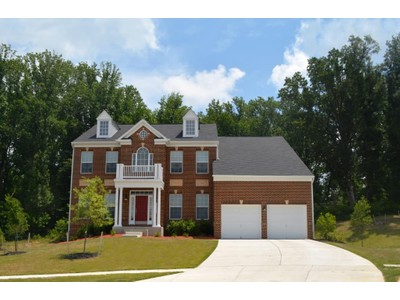 Single Family for sales at Governor's Bridge-The Princeton 17412 Governors Bridge Road Bowie, Maryland 20716 United States