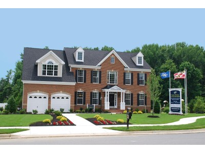 Single Family for sales at Governor's Bridge-The Kingsport 17412 Governors Bridge Road Bowie, Maryland 20716 United States