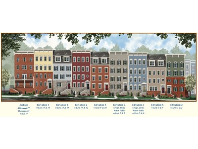 Single Family for sales at Summit Crossing-The Adams 306 Park Avenue Gaithersburg, Maryland 20877 United States