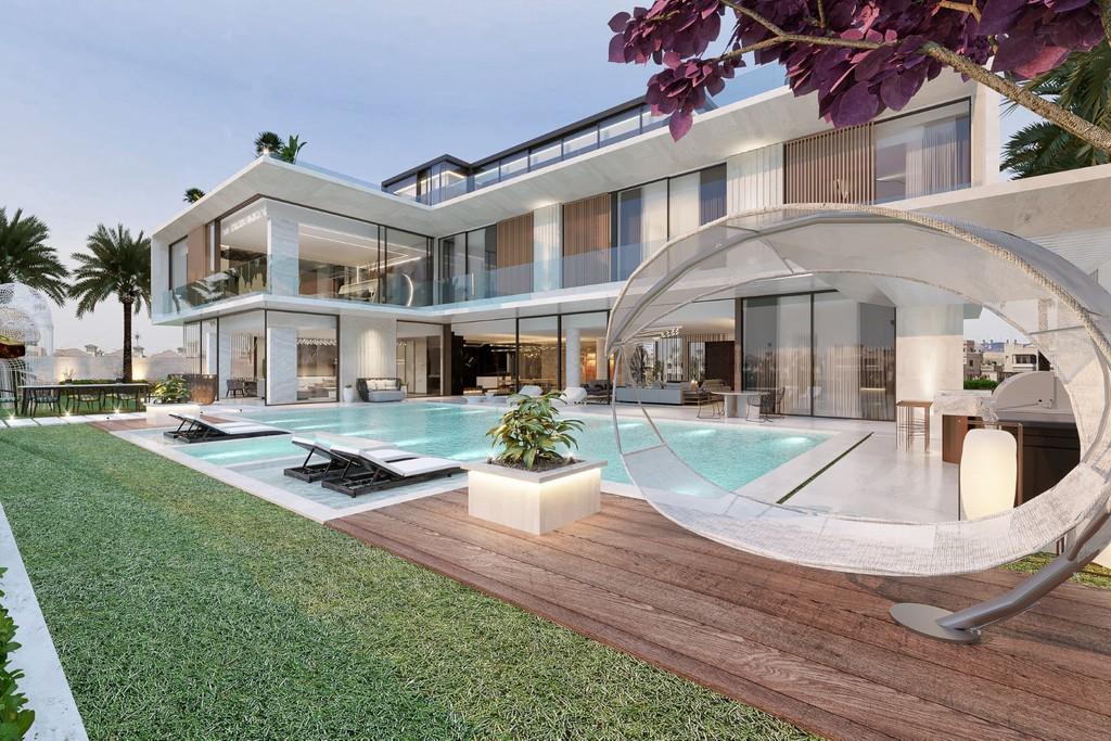 Вилла арабские эмираты четырехкомнатная квартира у моря в испании цена